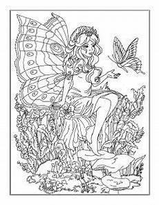 ausmalbilder elfen bunte zeichnungen ausmalbilder