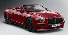 bentley continental gt convertible number 1 edition by mulliner debuts 6 0l w12 beast 100