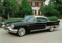 Front Left Black 1957 Cadillac Eldorado Brougham Car