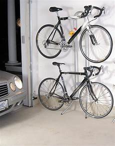 Apartment Bike Rack by Two Bike Gravity Stand Bicycle Storage Rack Wall Mount