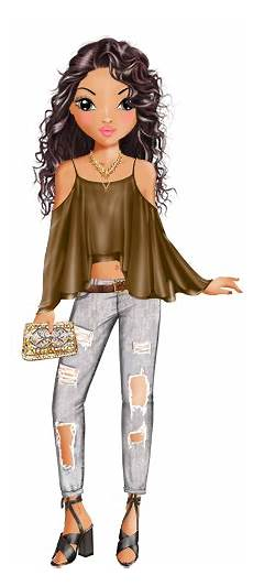 Topmodel Ausmalbilder Talita Topmodel Top Model Dibujos De Moda Ropa Dibujo Ve Dibujos