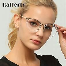 ralferty transparent glasses trendy eyeglass frame optic frames clear lens eyewear