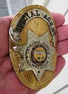 was sind badges special criminal justice commission states of