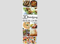 30 Satisfying High Protein Low Carb Recipes FULL