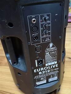 Eurolive B212d Behringer Eurolive B212d Audiofanzine