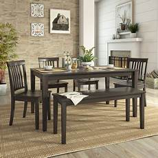 essgarnitur mit bank 6 dining set with 60 quot dining table bench