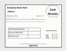 receipt template free business templates