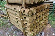 poteau bois rond diametre 140