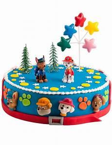 Kuchen Deko Set Paw Patrol Partydeko Und G 252 Nstige
