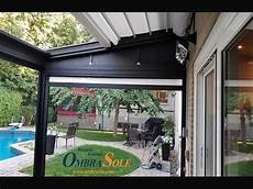 auvent design pour terrasse auvents ombrasole auvents pour terrasse capriccio