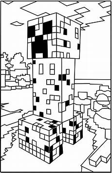 Aquarell Malvorlagen Minecraft Minecraft Coloring Pages Coloring Perspective And Awesome