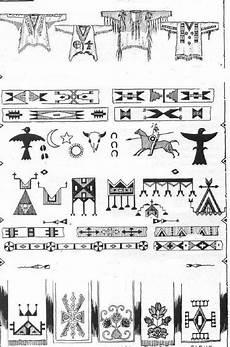 Indianische Muster Malvorlagen C Indianer Cheyenne Indianische Piktogramme Und Symbole 2