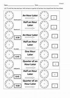 time worksheets before and after time later and before differentiated worksheets by clara5