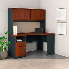 Business Furniture by Series A 60w Corner Desk With Hutch And 2