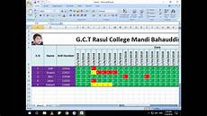 how to make attendance sheet in ms excel attendance management system in excel youtube