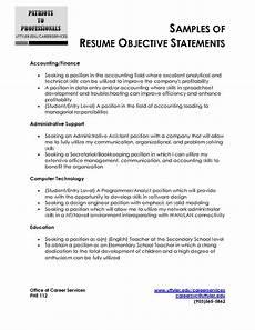 by franco resume writing resume objective statement resume objective sle