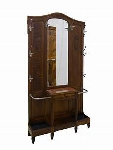 jugendstil garderobe antik um 1900 eiche ebay
