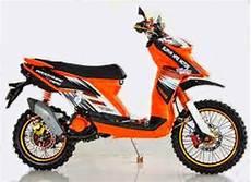 Modifikasi Matic Trail by Modifikasi Trail Motor Yamaha Matic X Ride Terbaru 2016