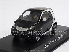 norev smart fortwo coupe 2014 black mercedes promo 1 43 scale
