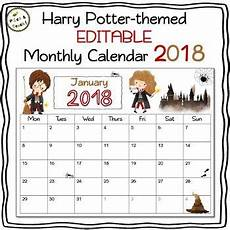 editable harry potter planner 2019 2020 free updates for drive ppt harry potter
