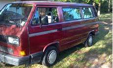 airbag deployment 1989 volkswagen type 2 auto manual find used 89 burgundy volkswagen vanagon 58 000 miles in ringgold louisiana united states