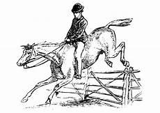 Ausmalbilder Pferde Western Malvorlage Pferd Mit Reiter Ausmalbild 27894