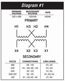 480 Volt To 120 Volt Transformer Wiring Diagram Sle