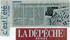 julie au salon mots croisés tarascon sur ari 232 ge coupure de presse 187 jean rossat