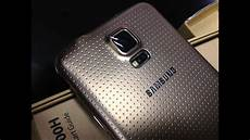 samsung galaxy s5 gold color sm g900h copper gold