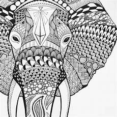 Ausmalbilder Elefant Mandala Die Besten 25 Mandala Tiere Schwer Ideen Auf