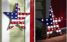 patriotic lighted star wall decor from collections etc