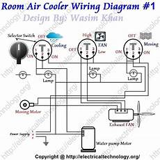 Room Air Cooler Wiring Diagram 1 Room Air Cooler