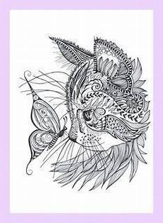 Ausmalbilder Katze Mandala Cat Coloring Page Mandalas And Mantras Cat C