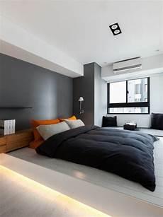 wand schlafzimmer gestalten schlafzimmer modern gestalten graue wand hinter dem