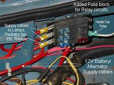 Second Fuse Block To Feed Relays Mgb Gt Forum Mg