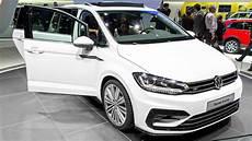 New Volkswagen Touran R Line Geneva Motor Show 2015 Hq