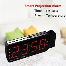 Digital Time Projector Snooze Alarm Clock by Alarm Clock Projector Led Digital Display Temperature