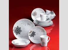 white and silver christmas dishes not quite, along the