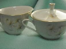 Hutschenreuther Arzberg Creamer Sugar Bowl Vintage