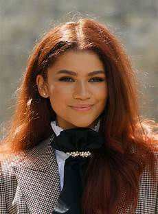 zendaya gets spider man fans hyped over new hair color sfgate
