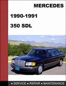car owners manuals free downloads 1991 mercedes benz s class transmission control mercedes benz 350sdl w126 1990 1991 factory workshop service repair manual tradebit