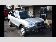 Used 2005 Hyundai Santa Fe GLS Sunroof for sale Georgetown