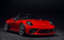 Porsche 911 Speedster To Be Offered In 2019  The Car Guide
