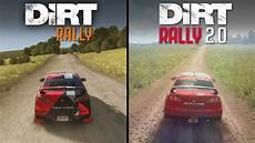 Dirt Rally 2 0 Vs Dirt Rally Direct Comparison