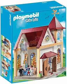 Playmobil Ausmalbilder Citylife Playmobil Romantische Trouwkerk 5053 Playmobil City
