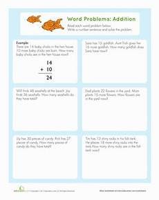 2nd grade math addition word problems worksheet word problems addition worksheet education