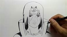 Cara Menggambar Itachi Dari Anime