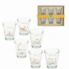 vendita bicchieri set 6 bicchierini da caffe in vetro