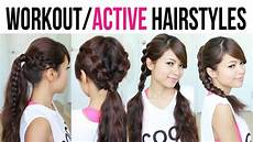 cute easy back to school gym hairstyles for medium to hair youtube