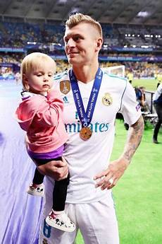 Toni Kroos With His Amelie Kiev 2018 Chions